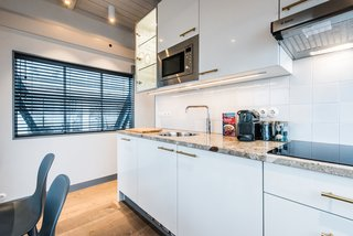 Elevate Your Next Amsterdam Experience With This Unique Crane Rental - Photo 9 of 13 - Guests have access to a fully equipped kitchen.