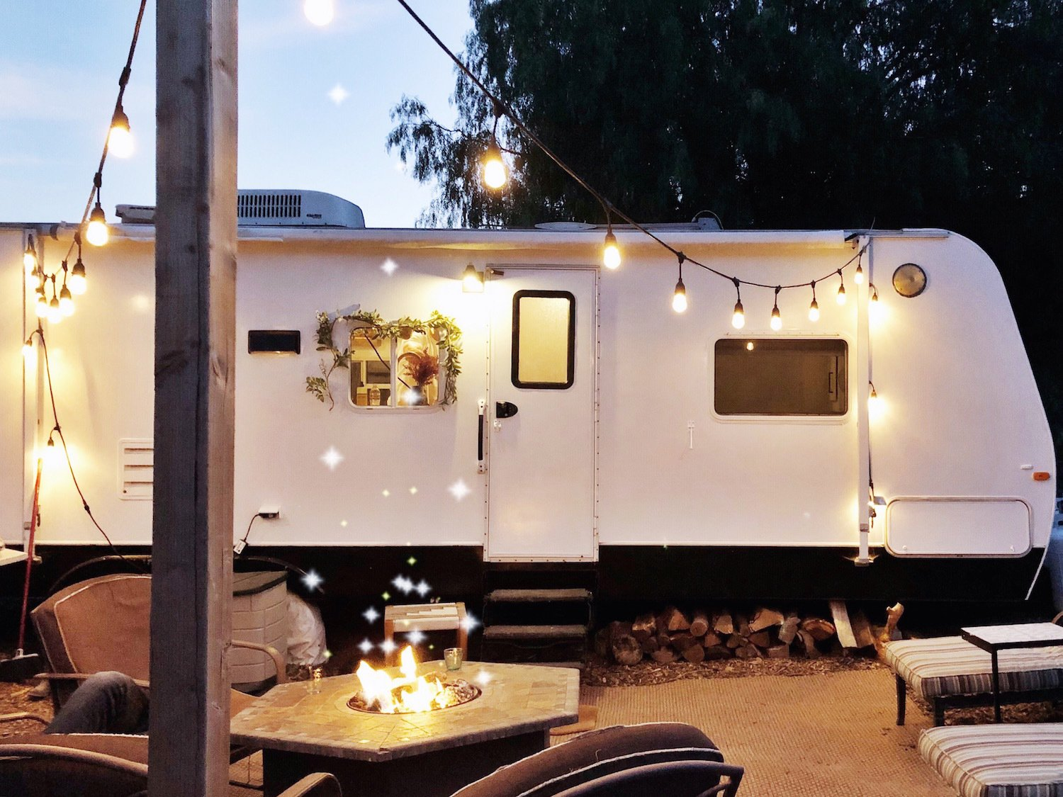 The 180-square-foot RV is currently parked on their lot in Ventura, California.