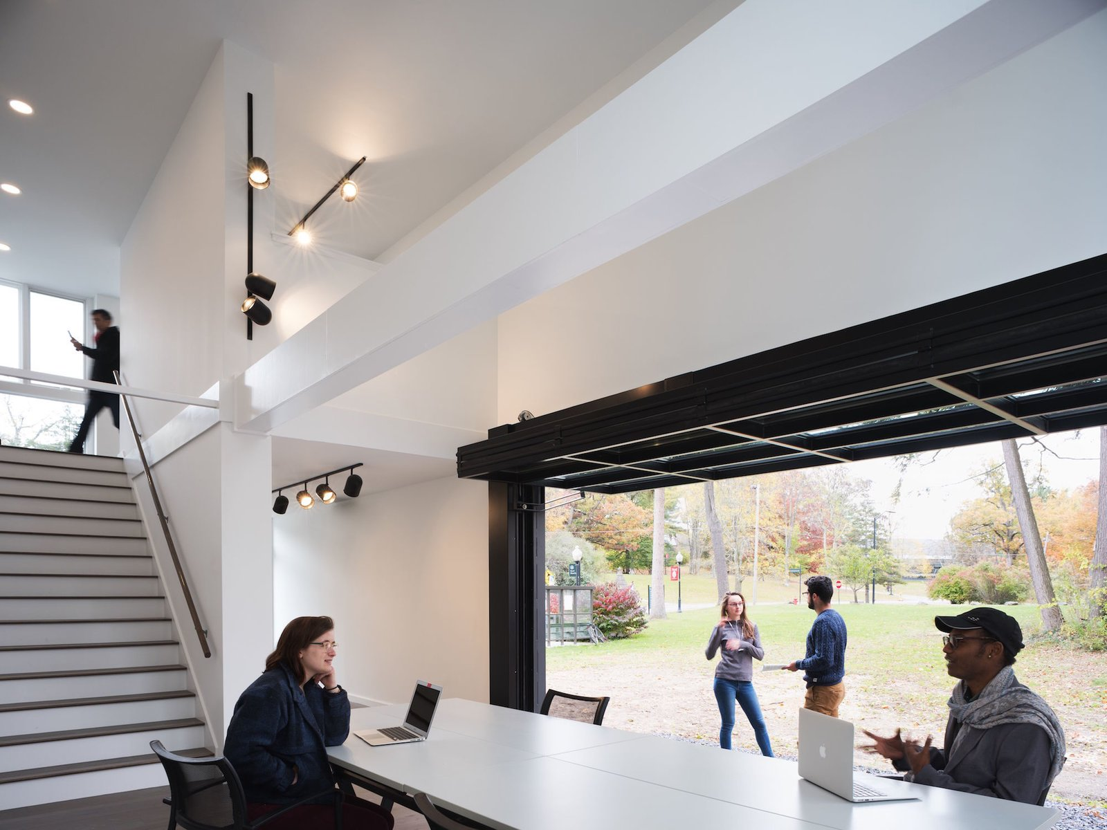 The space can be reserved by students, staff, and faculty of Bard College.