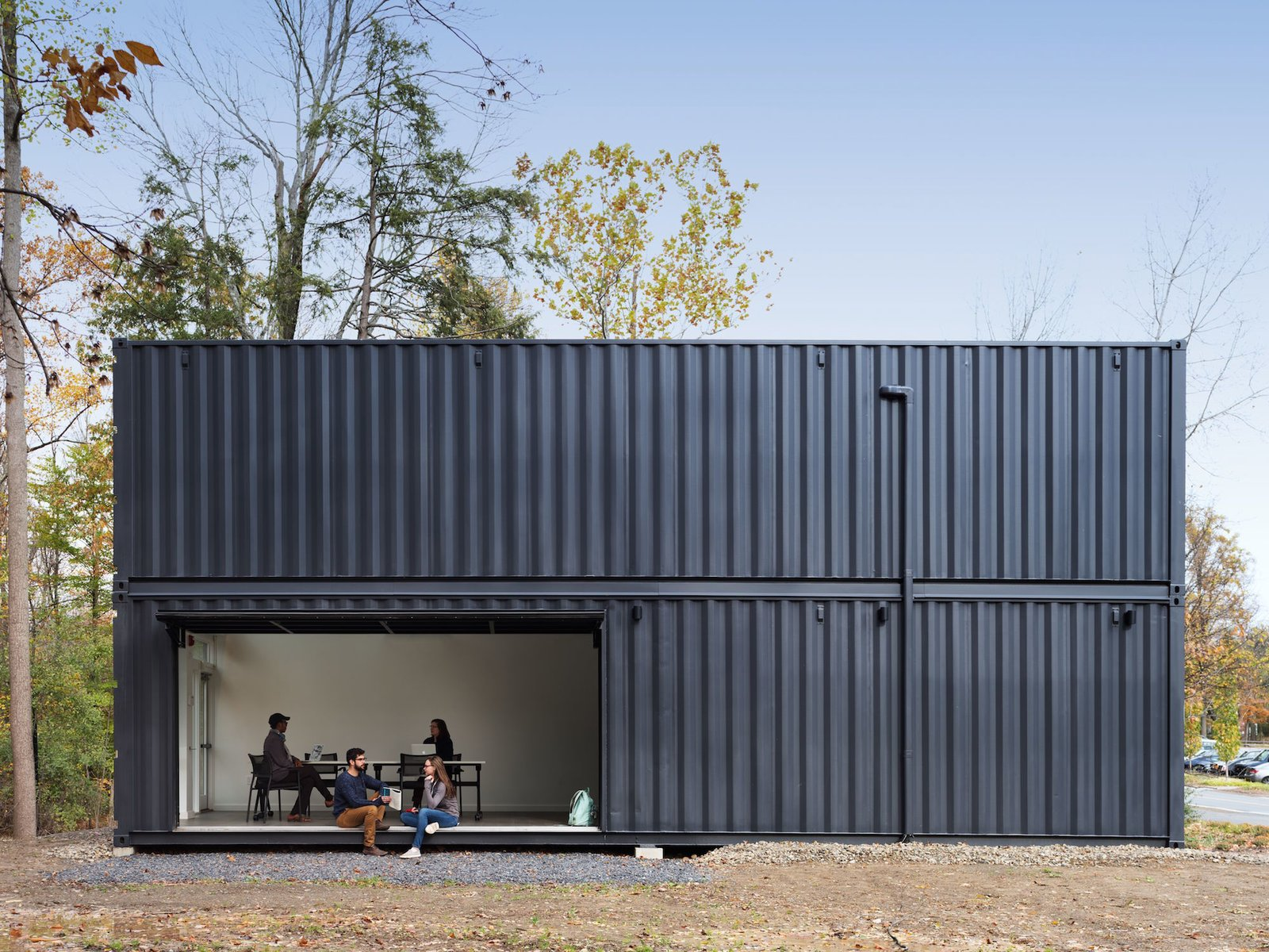 A Shipping Container Prefab Lab Is Built In Only 4 Hours