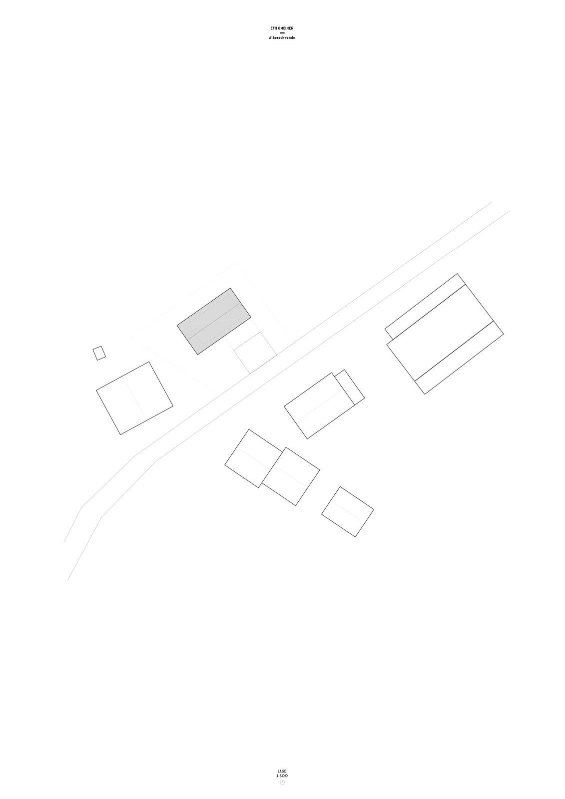 Höller House site plan
