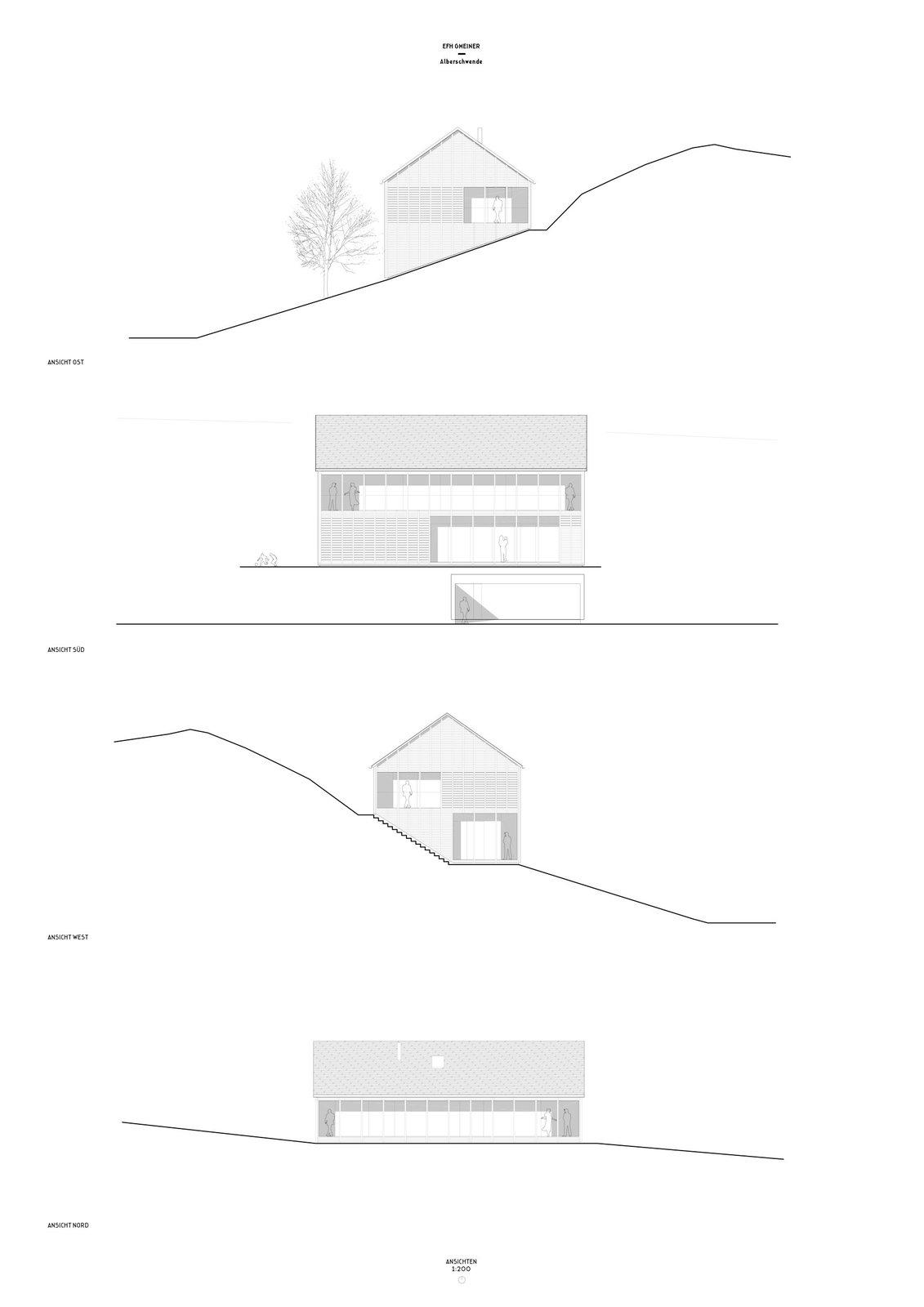 Höller House elevations