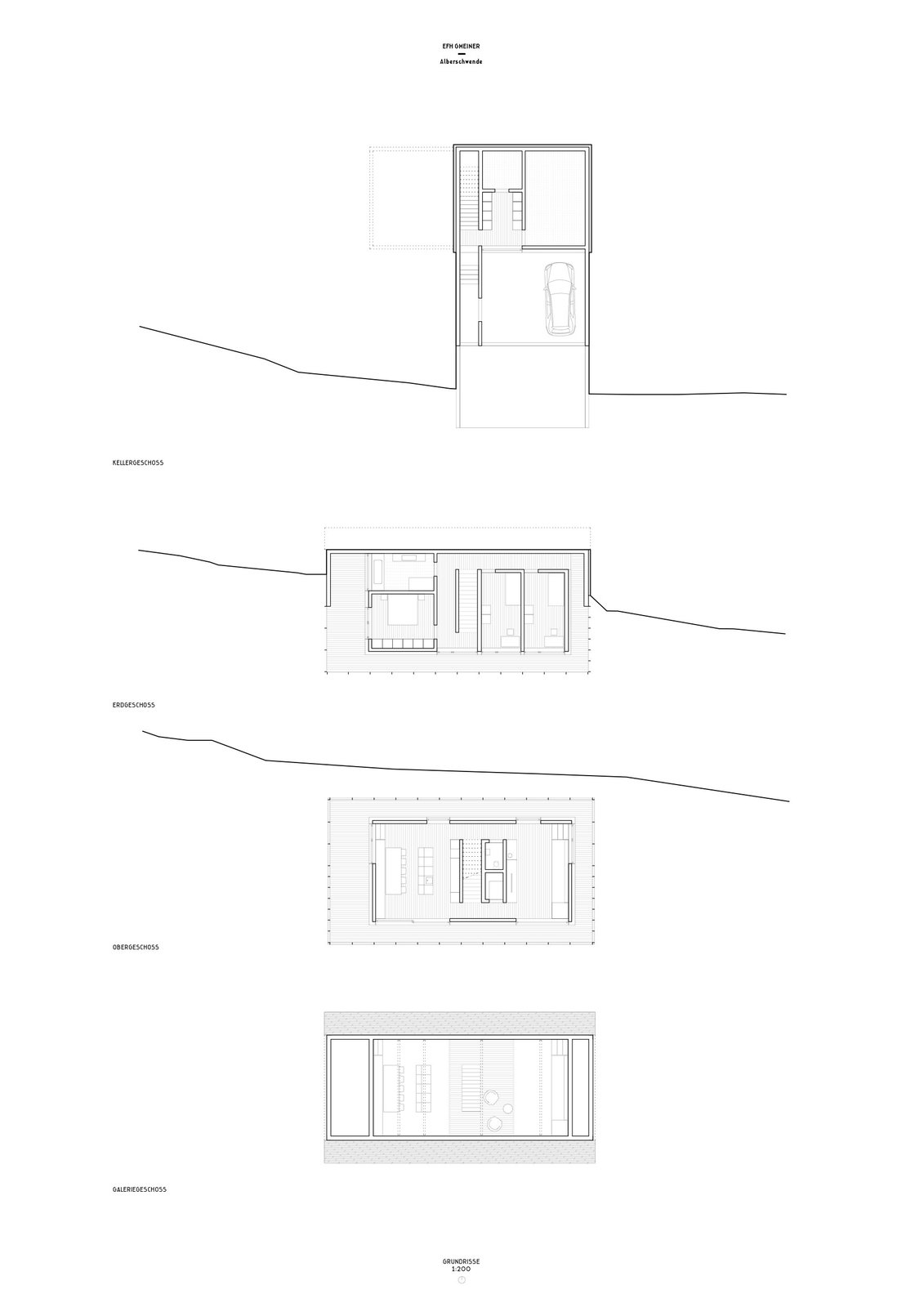 Höller House floor plans