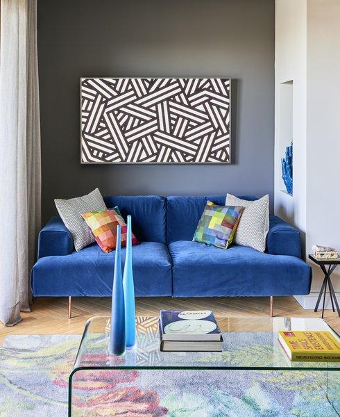 Creueta House-Living room.
