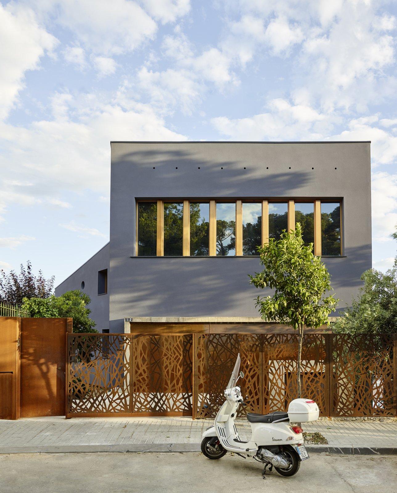 Creueta House-Main facade.