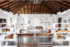 Modern home with Office, Concrete Floor, Lamps, Craft Room, Desk, Bookcase, Storage, Shelves, and Chair. Main Studio Space Photo 4 of StudioMa Architecture Design Studio
