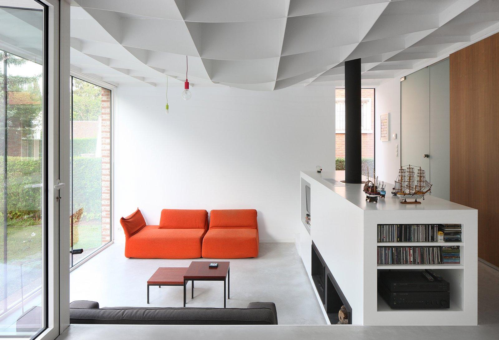 Interior view West