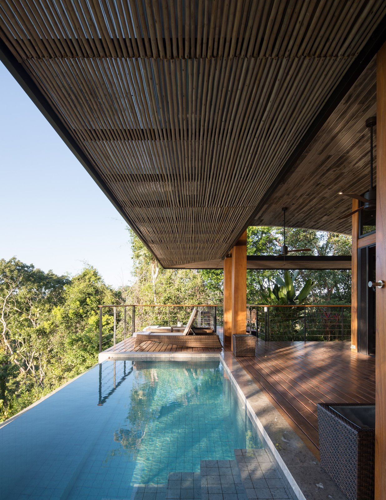 Pool and deck view
